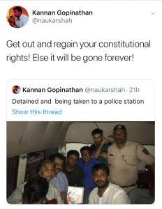 Kannan Detained