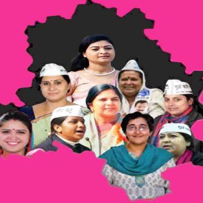 Women Candidate in Delhi Poll