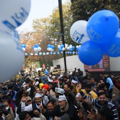 Delhi Election 12 noon