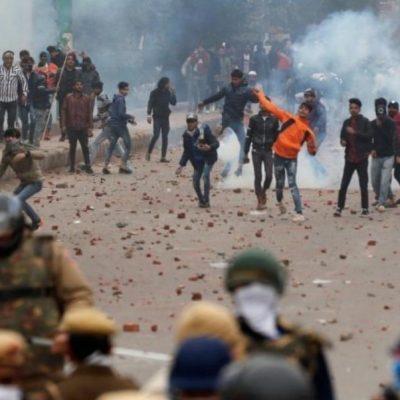 Delhi Violence continues