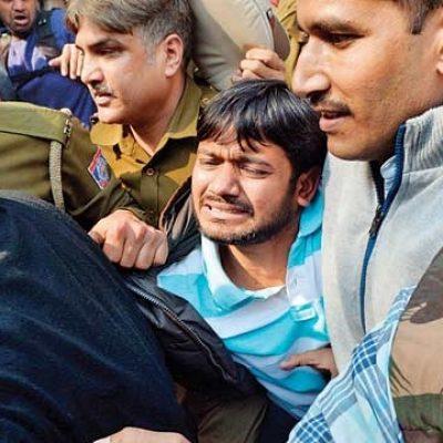 Kanhaiya Kumar Attacked