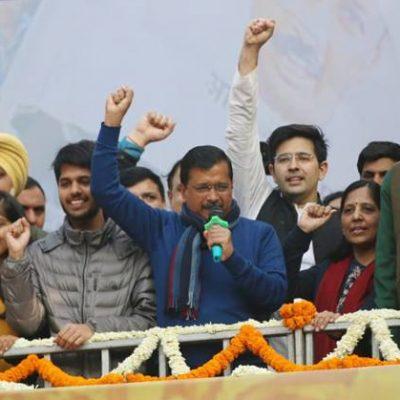 AAP Mantra For Delhi
