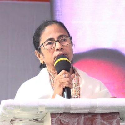 Mamata At Krishnanagar
