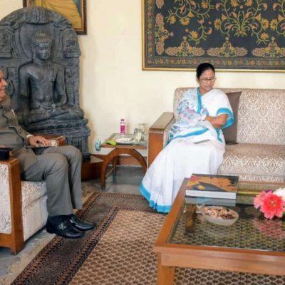 Mamata Meets Dhankhar