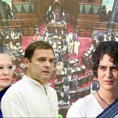 Priyanka Gandhi in Rajya Sabha