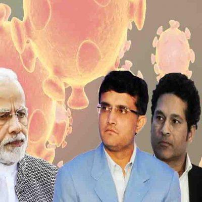 Modi Sachin Interaction