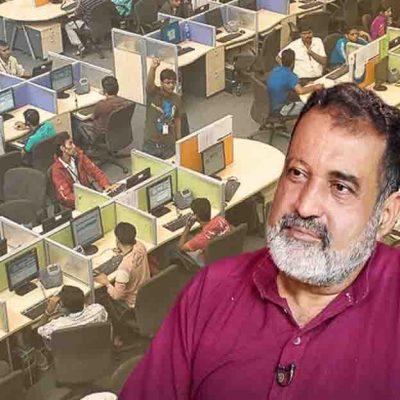 Mohandas Pai On IT Employment
