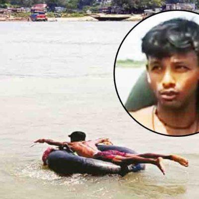 Swim Bhagirathi To Open Shop