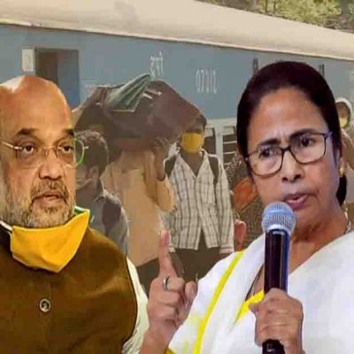 Mamata Replies Amit Shah on Corona Express