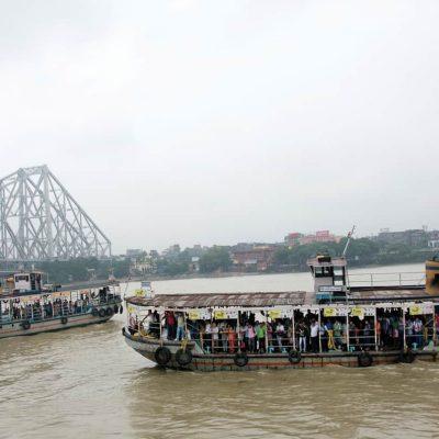Ferry Service Started In Kolkata