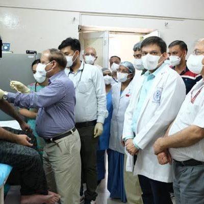Covaxin Human Trial Begins In AIIMS