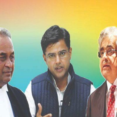 Sachin Pilot Lawyer Selection