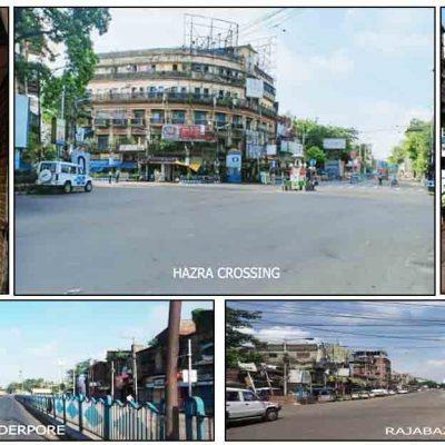 Lockdown Scenario in Kolkata