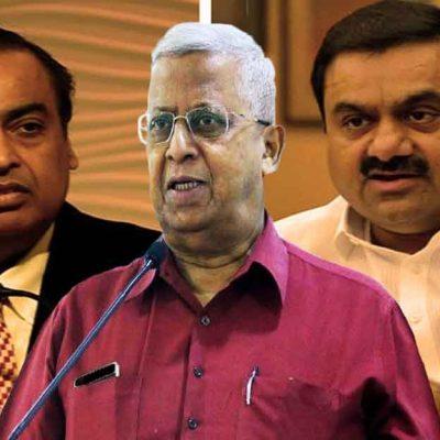 Tathagata Roy Praises Ambani Adani