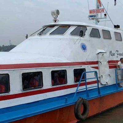 Kolkata Chandannagar Water Bus Service