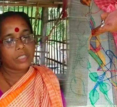 Tant Artist Saraswati Debi From Nadia