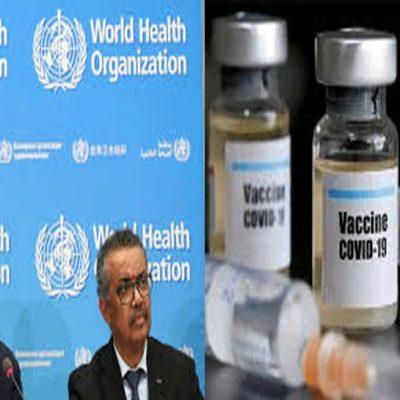 WHO Vaccine Worry