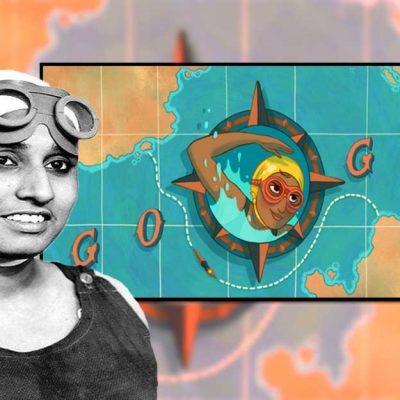 Arati Saha Google Doodle