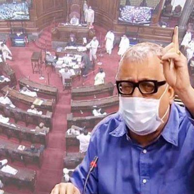 Rajya Sabha Suspends 8