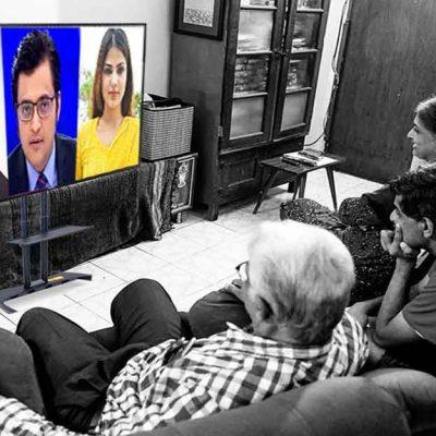 SSR-Rhea Ruled The Indian News