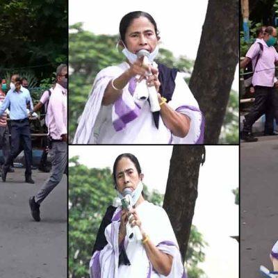 Mamata Hathras Padyatra At Kolkata