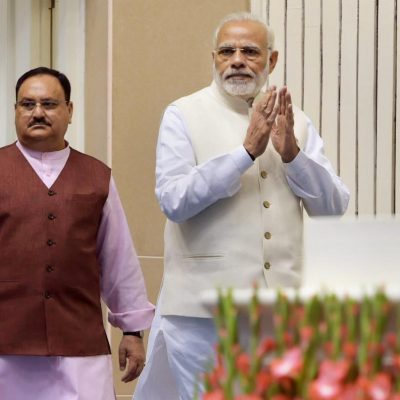 Nadda in Place of Amit Shah