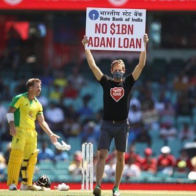 Sydney Cricket Ground Adani